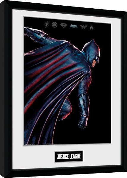 Liga spravedlivých - Movie Batman zarámovaný plakát