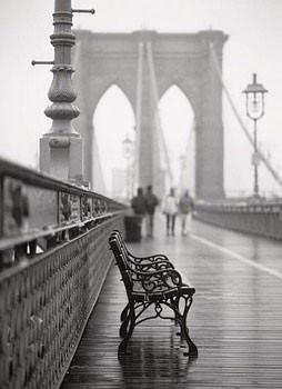Lonely Bench Obrazová reprodukcia