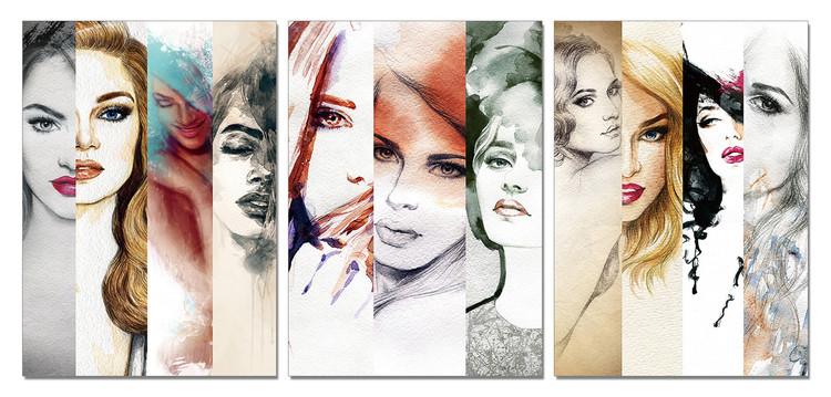 Obraz Malba portrét ženy