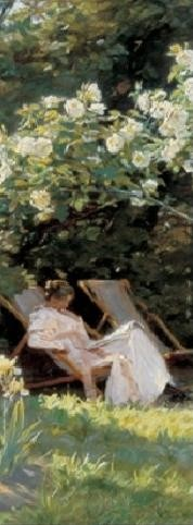 Obrazová reprodukce  Marie v zahradě (Růže)