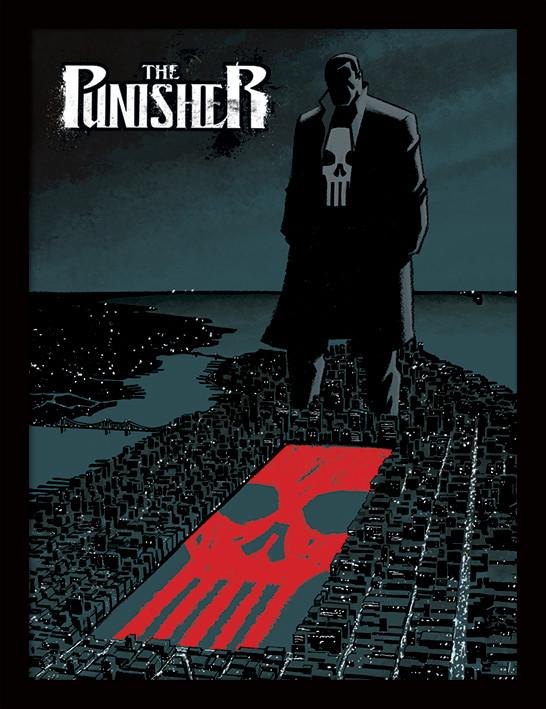 Marvel Extreme - Punisher zarámovaný plakát