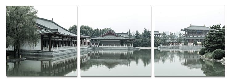 Obraz  Město u vody