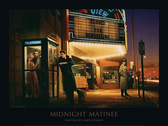 Obrazová reprodukce Midnight Matinee - Chris Consani