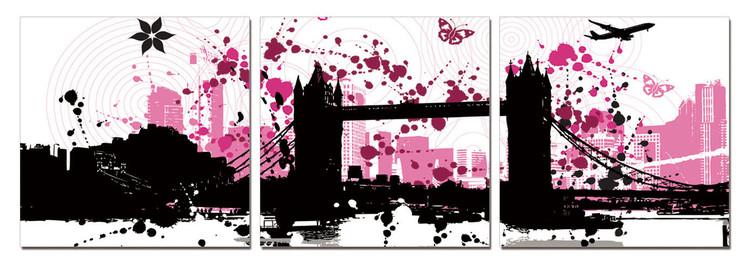 Obraz Moderní design - koláž měst