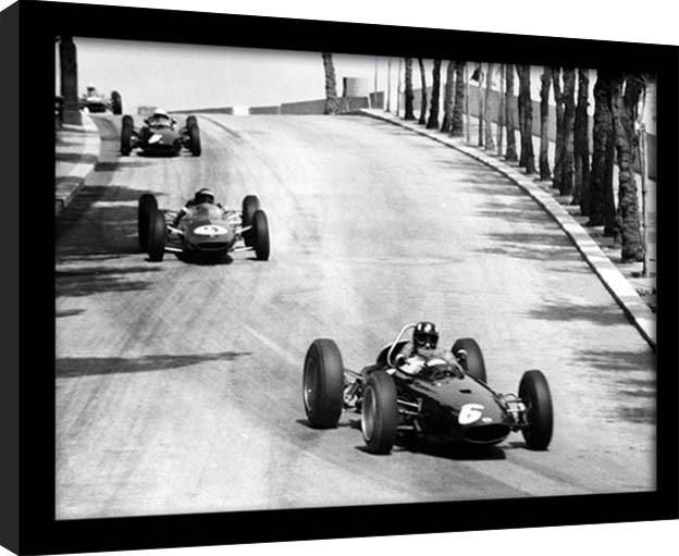 Monaco - 12 zarámovaný plakát