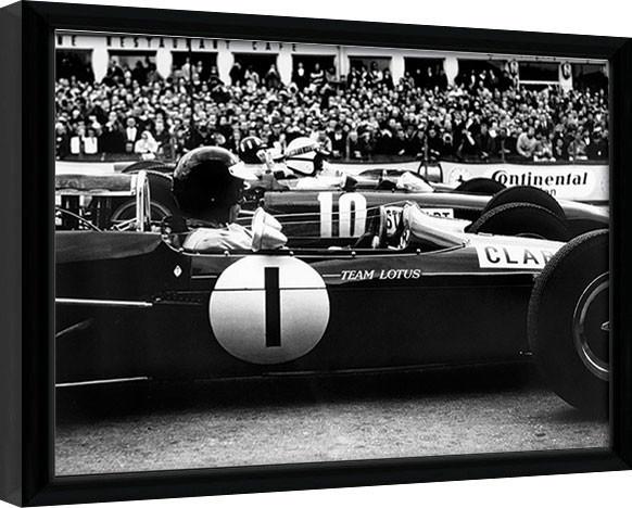 Monaco - 15 zarámovaný plakát