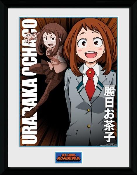 My Hero Academia - Uraraka Ochako zarámovaný plakát