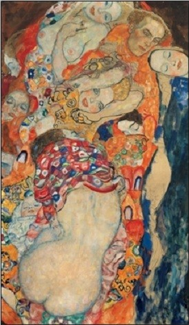 Obrazová reprodukce Nevěsta (část)