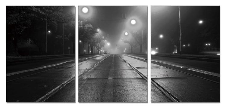 Obraz Noční ulice