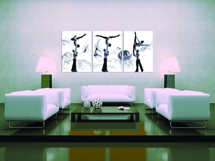 Obraz  Pár akrobatických tanečníku