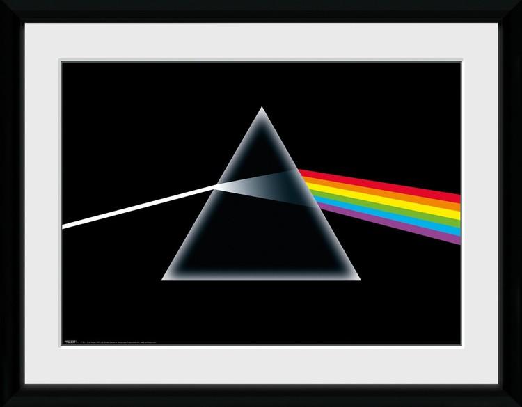 Pink Floyd - Dark Side Of The Moon zarámovaný plakát