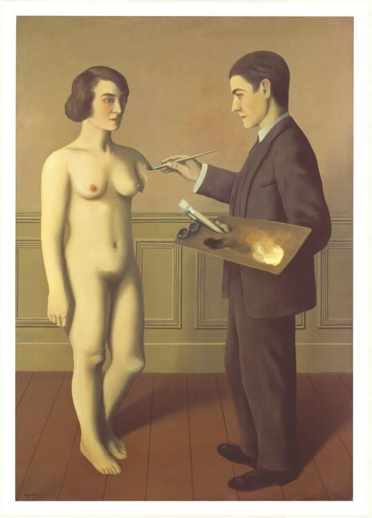Obrazová reprodukce  Pokus o nemožné, 1928