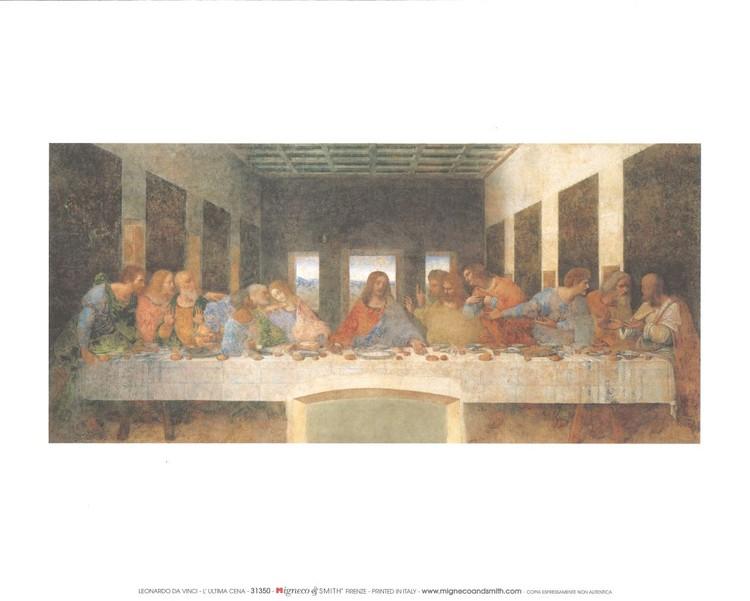 Obrazová reprodukce  Poslední večeře