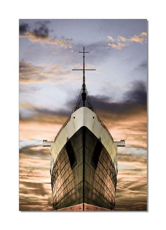 Obraz Příď vělké lodi