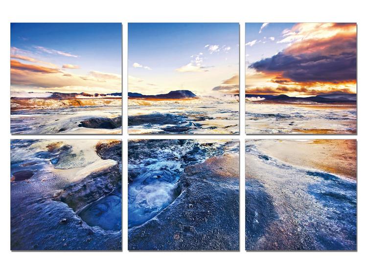 Obraz  Příliv v západu slunce