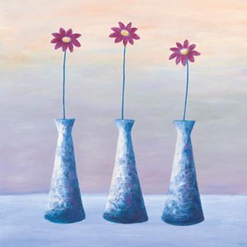 Purple Trio Obrazová reprodukcia