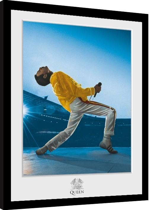 Queen - Wembley zarámovaný plakát