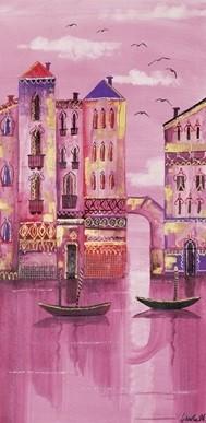 Obrazová reprodukce Růžové Benátky