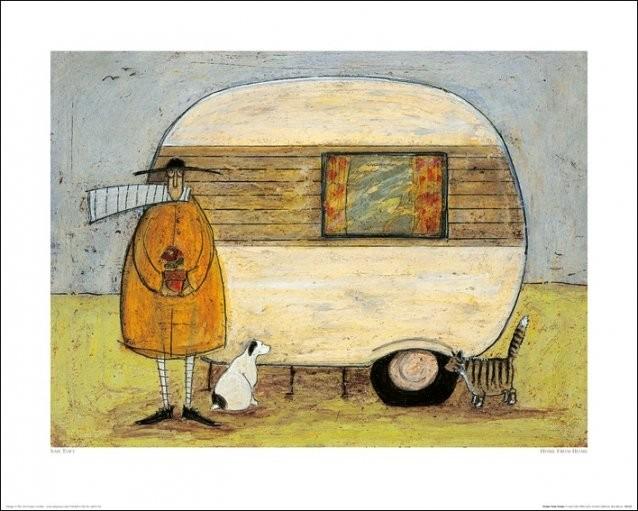 Sam Toft - Home From Home Obrazová reprodukcia