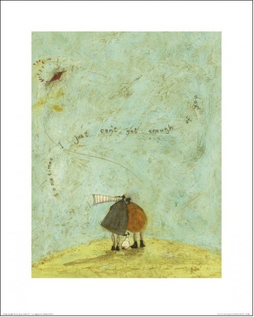 Obrazová reprodukce  Sam Toft - I Just Can't Get Enough of You