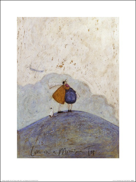 Obrazová reprodukce Sam Toft - Love on a Mountain Top