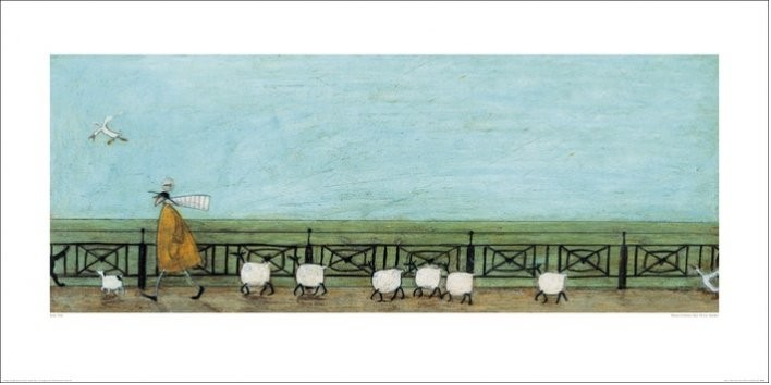 Sam Toft - Moses Follows That Picnic Basket Obrazová reprodukcia