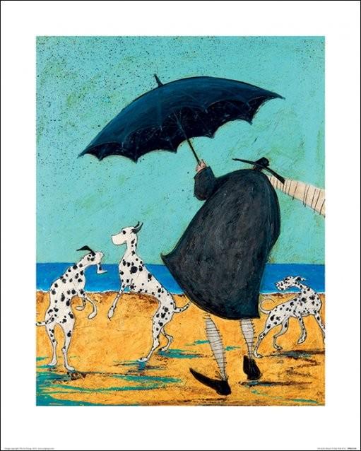 Obrazová reprodukce  Sam Toft - On Jack's Beach