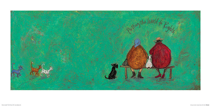 Obrazová reprodukce Sam Toft - Putting the World to Rights