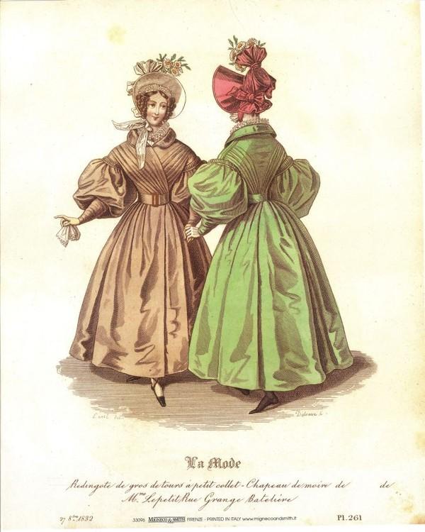 Obrazová reprodukce Šaty 1