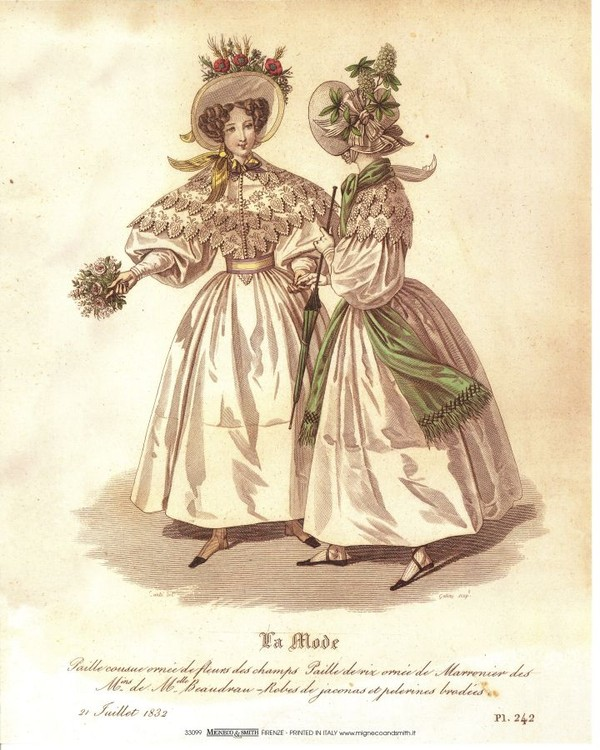 Obrazová reprodukce  Šaty 4