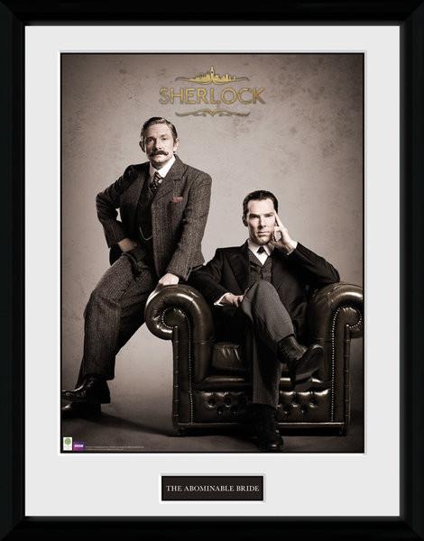 Sherlock - Victorian zarámovaný plakát