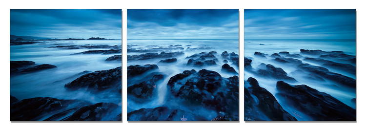 Obraz Skalisté pobřeží za soumraku