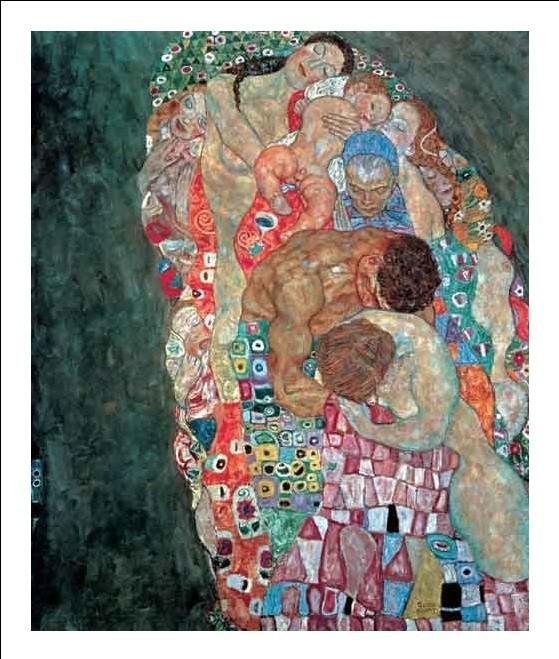 Obrazová reprodukce  Smrt a život (část)