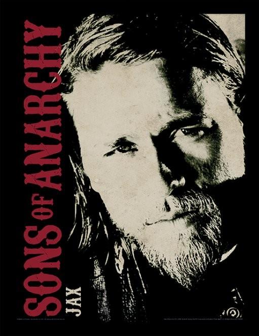 Sons of Anarchy (Zákon gangu) - Jax zarámovaný plakát