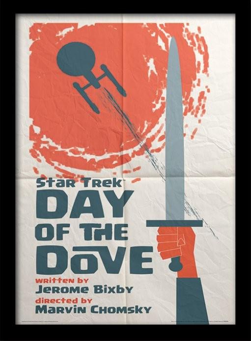 Star Trek - Day Of The Dove zarámovaný plakát