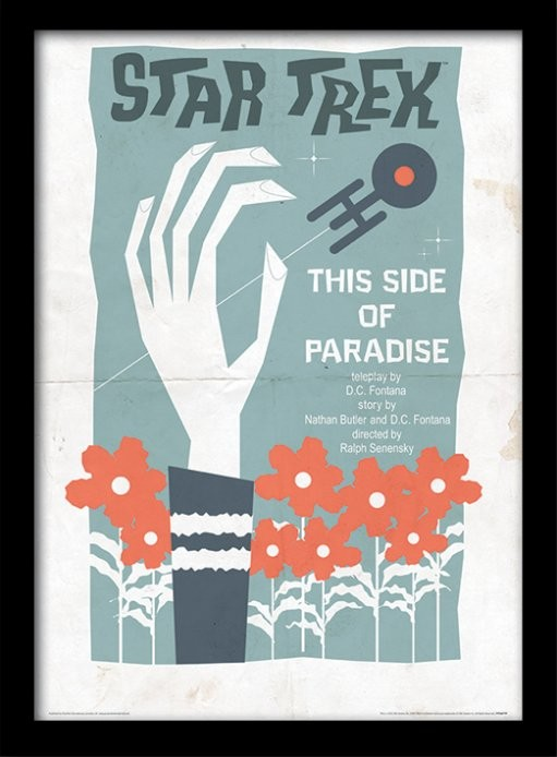 Star Trek This Side Of Paradise Oprawiony Plakat Obraz Kup Na Posterspl