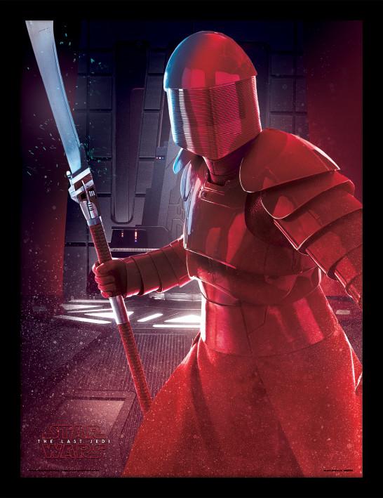 Star Wars: Poslední z Jediů - Elite Guard Blade zarámovaný plakát