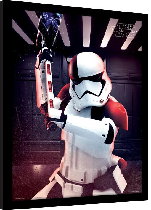 Star Wars: Poslední z Jediů - Executioner Trooper zarámovaný plakát