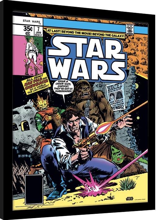 Star Wars - They've Got Us Surrounded zarámovaný plakát