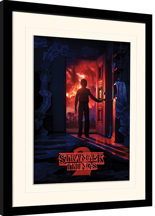 Stranger Things - Doorway zarámovaný plakát
