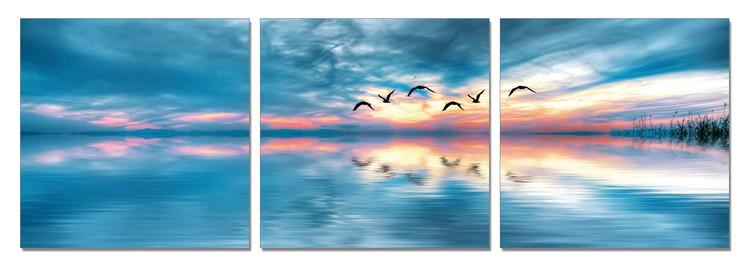 Obraz Sunrise over sea