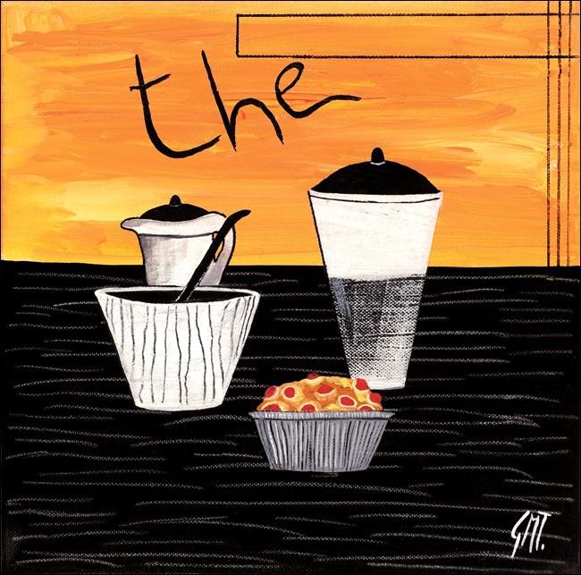 Tea (Thè) Obrazová reprodukcia