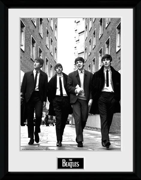 The Beatles - In London Portrait zarámovaný plakát