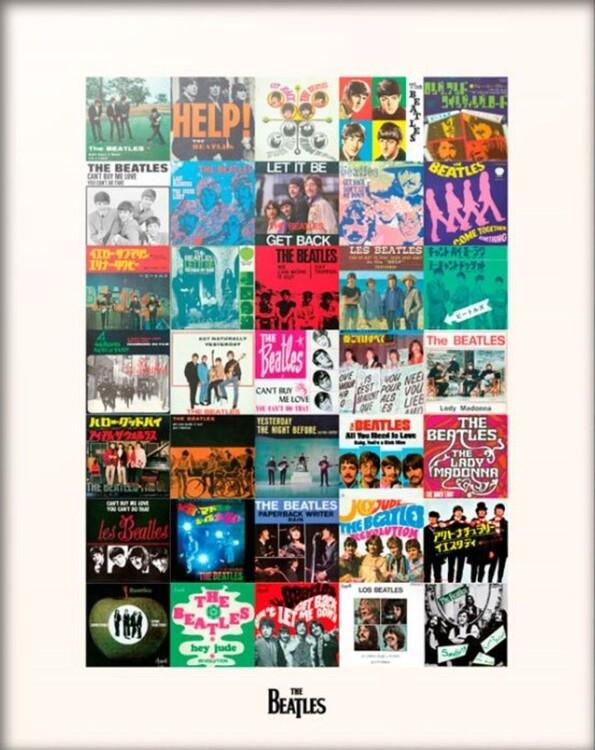 The Beatles - Singles Obrazová reprodukcia
