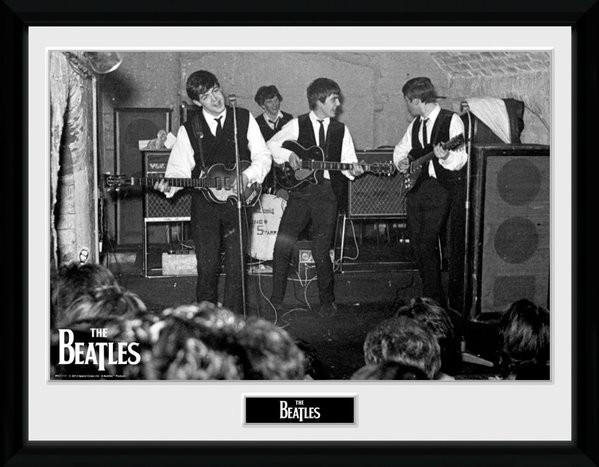 The Beatles - The Cavern 3 zarámovaný plakát