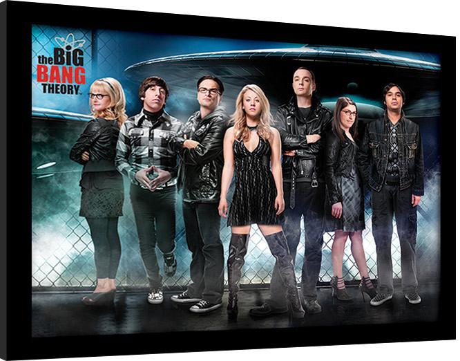 The Big Bang Theory (Teorie velkého třesku) - UFO zarámovaný plakát