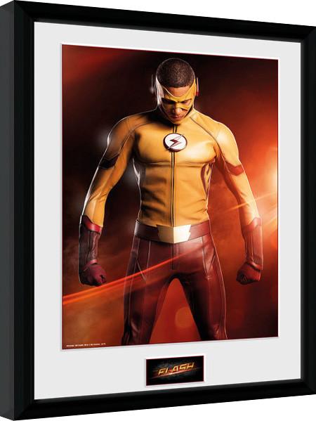 The Flash - Kid Flash zarámovaný plakát