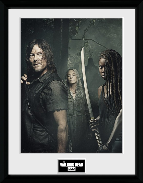 The Walking Dead - Season 9 Trio zarámovaný plakát