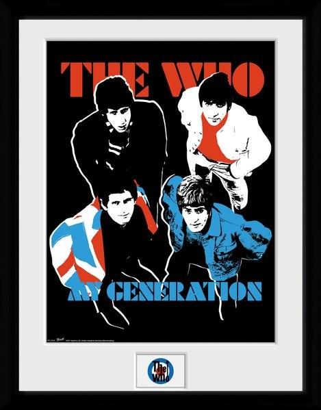 The Who - My Generation Zarámovaný plagát