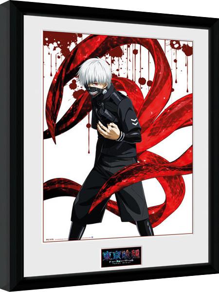 Tokyo Ghoul - Ken zarámovaný plakát